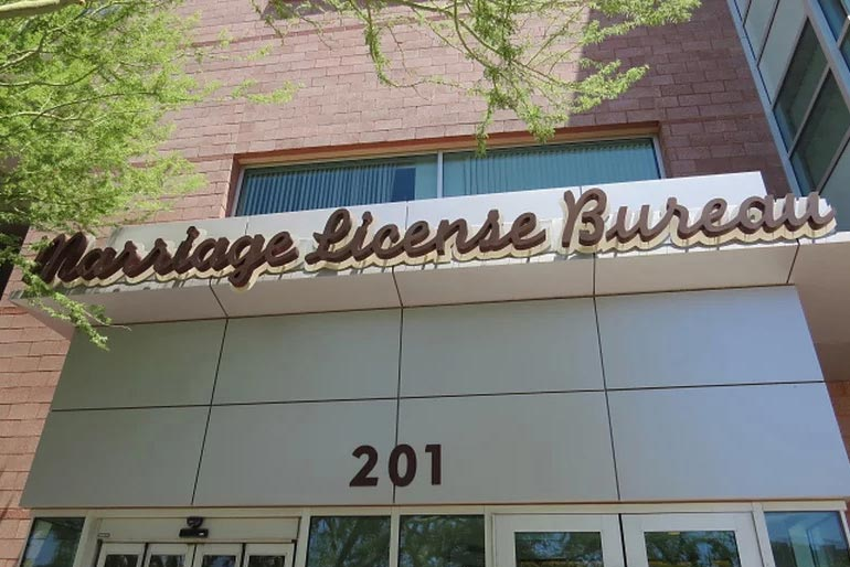 Clark County Marriage License Bureau