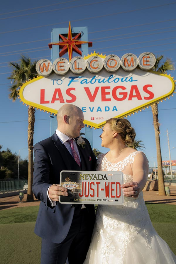 Las Vegas Wedding License