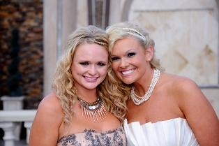 Miranda Lambert serves as Matron of Honor at friend's wedding