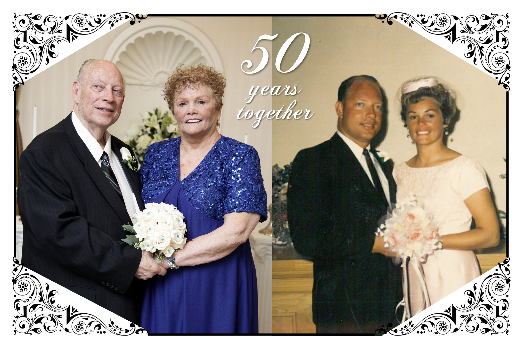 50 years of marriage at las vegas wedding chapel
