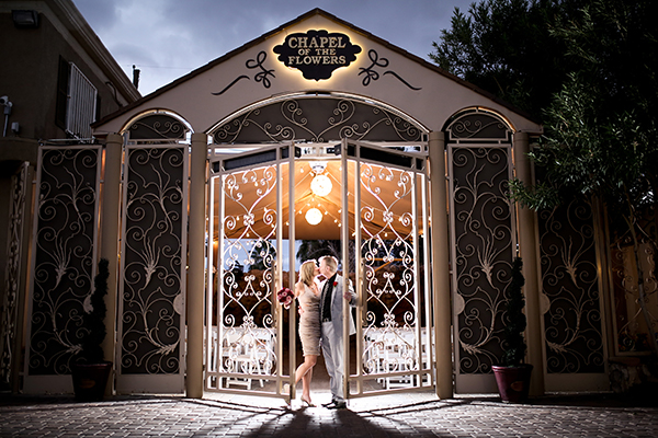 Las Vegas Wedding by Chapel of the Flowers Photo of the Month Winner