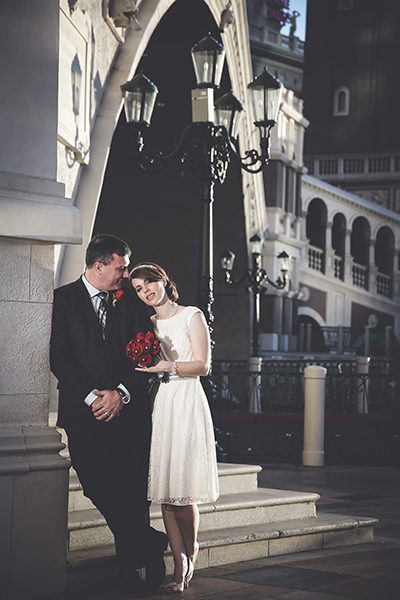 Photo of the Month- Las Vegas Wedding by Chapel of the Flowers