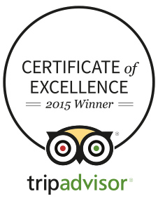 Chapel of the Flowers TripAdvisor Award