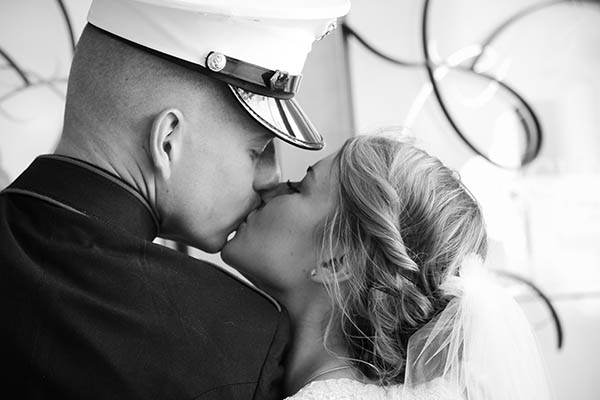 Military Wedding at Chapel of the Flowers