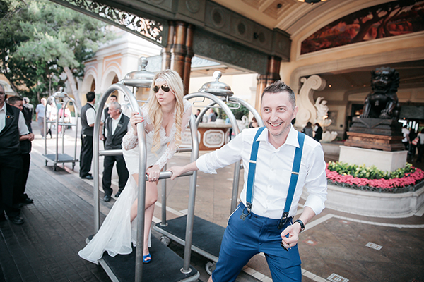 Las Vegas Wedding by Chapel of the Flowers