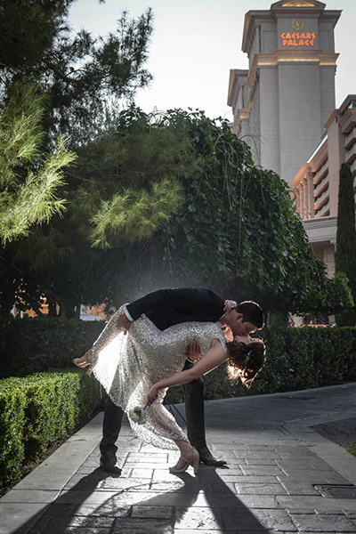 Las Vegas Wedding Photography by Chapel of the Flowers Photo of the Month Winner