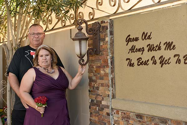 Past Wedding Couples' Testimonials for Chapel of the Flowers