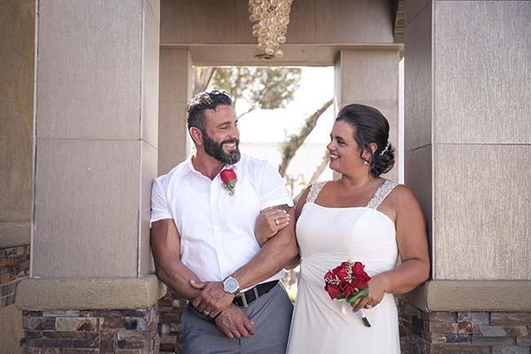 Las Vegas Wedding Testimonials by Chapel of the Flowers' Past Couples