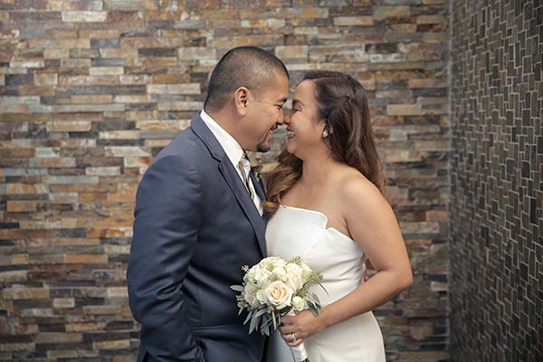 Andreo and Kathz Las Vegas Wedding at Chapel of the Flowers