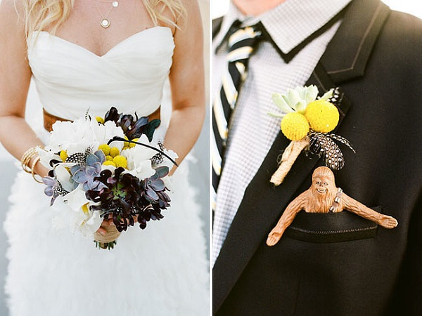 Chewbacca Wedding Flowers