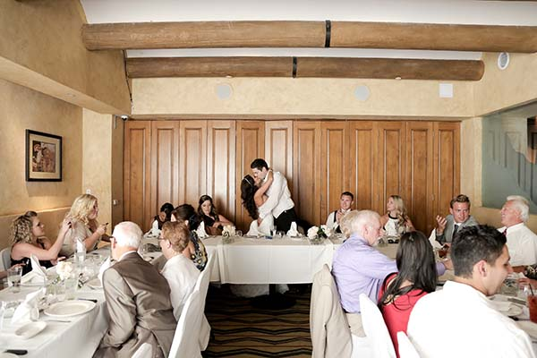 Las Vegas Wedding Receptions by Chapel of the Flowers Celebrate in Style