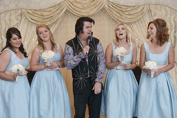 Las Vegas Wedding Ceremony at Chapel of the Flowers Elvis