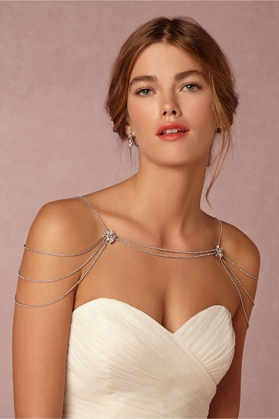 Your Spring Bridal Look Created With Separates BHLDN shoulder necklace