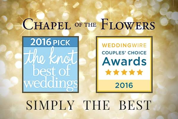 Chapel of the Flowers award winning destination wedding location