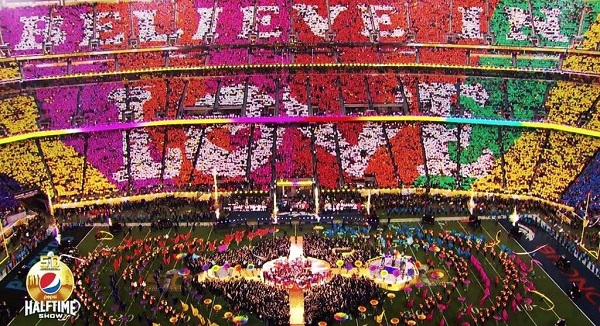 Super Bowl Halftime Show Believe in Love from Here I am Blog