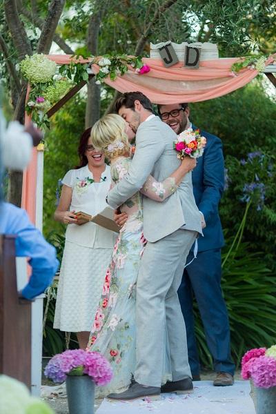 A Romantic Bride Jennie-Garth-Wedding-Pictures