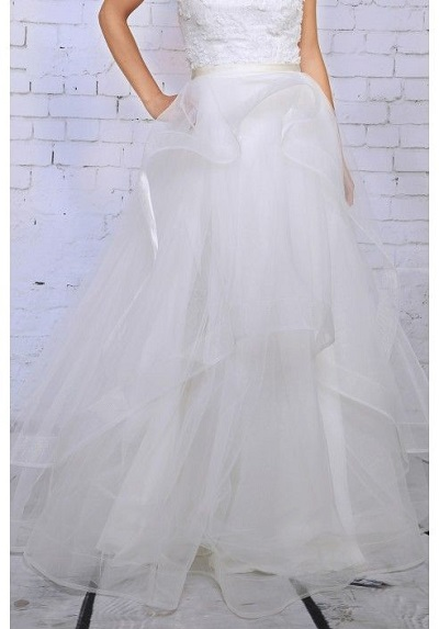 Your Spring Bridal Look Created With Separates Lace and Liberty Celebration skirt