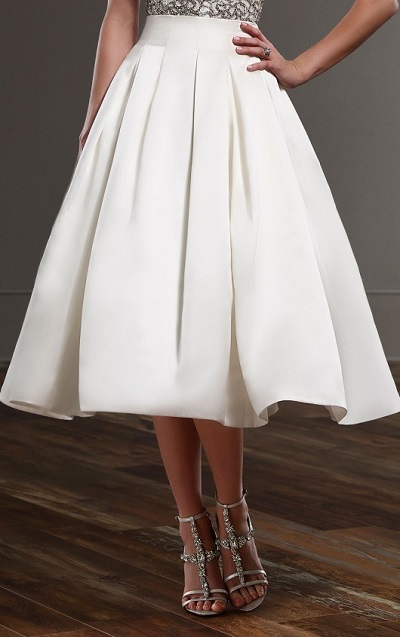 Your Spring Bridal Look Created With Separates Martina Liana Separates Sachi Skirt