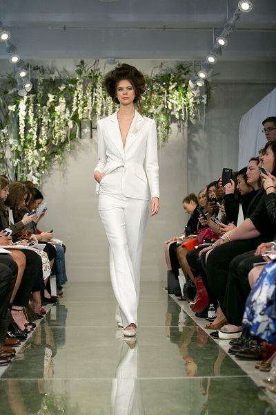Your Spring Bridal Look Created With Separates Theia Trouser Suit Spring 2016
