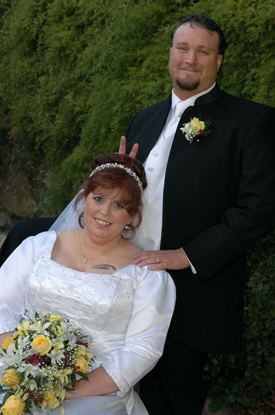 Scott and Jill's Las Vegas Wedding in 2006 at Chapel of the Flowers