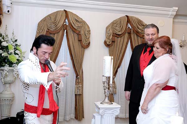 Elvis Wedding Ceremony in Victorian Chapel
