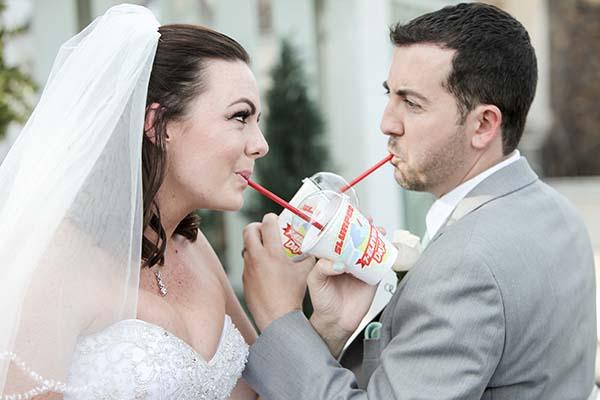 7-11 Slurpee Wedding in Las Vegas