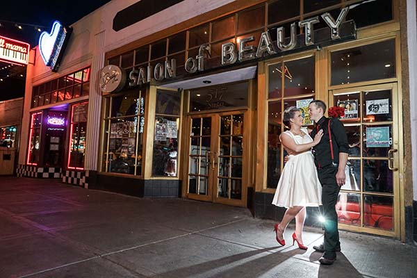 Downtown Las Vegas Wedding Photo Sesssions Chapel Of The