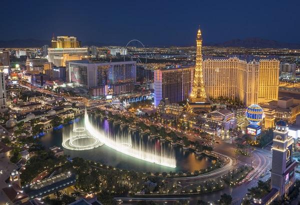 Las Vegas Strip Night Skyline