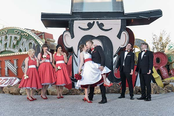Punk Rock and Rockabilly wedding packages in Las Vegas