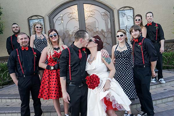 Viva Las Vegas Rockabilly wedding