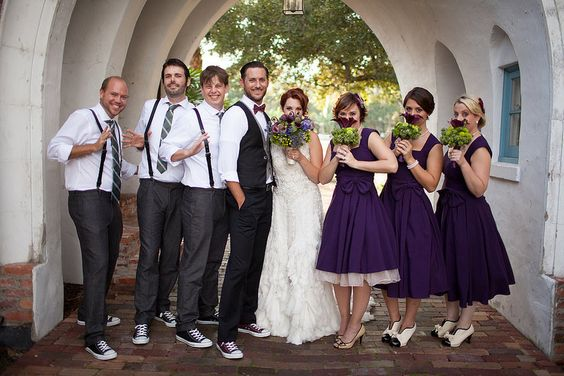 rockabilly wedding attire
