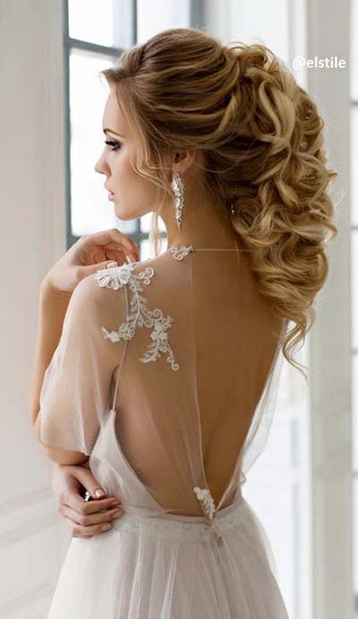 Bridal Hairstyles :: Elegant PonyTail