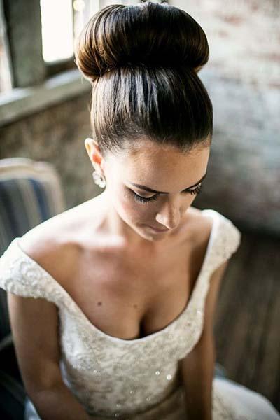 Bridal Hairstyles :: Ballerina Bun