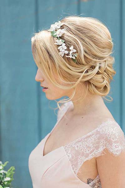 Wedding-Hairstyles-for-Short-Hair | Chapel of the Flowers Blog