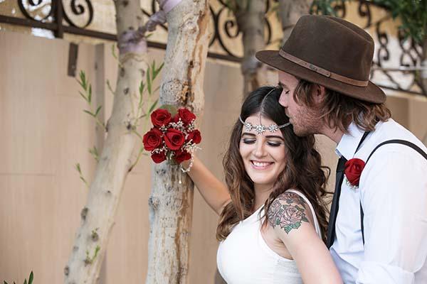 Boho Chic Weddings :: Bohemian Wedding Ideas for Las Vegas Wedding