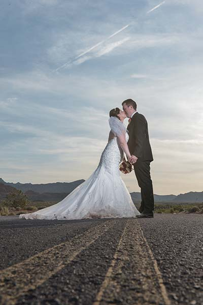 Best Wedding Photo from May 2016 at Chapel of the Flowers :: Las Vegas Weddings :: Primary Photography