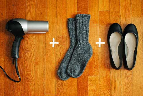 Basics for stretching your shoes