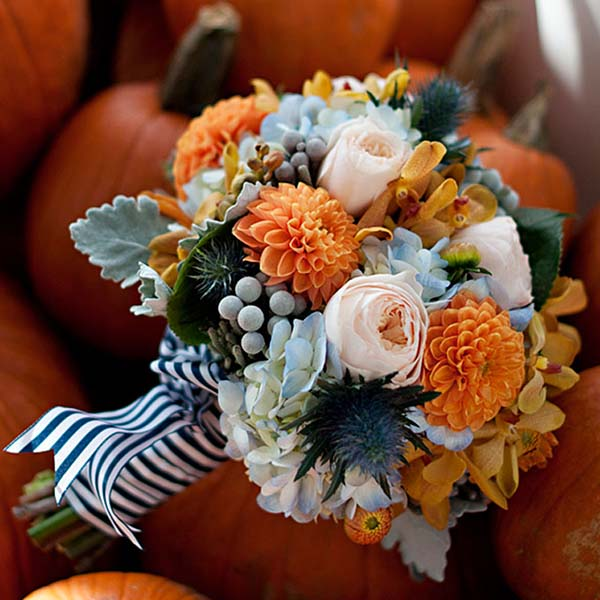Ideas For Wedding Flowers: Wedding Flower Ideas For Fall Weddings