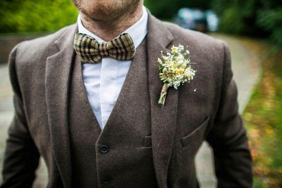 Tweed Grooms Suit