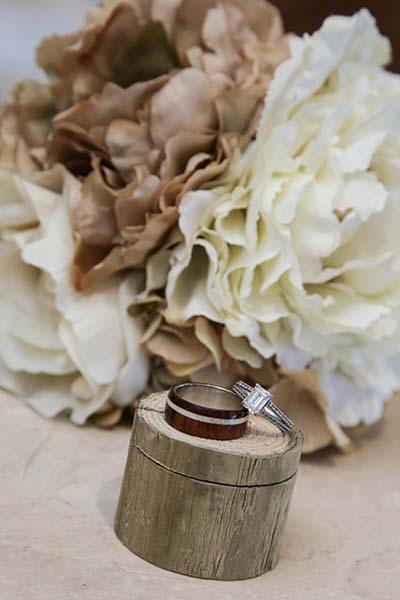 Rustic Fall Ring Box