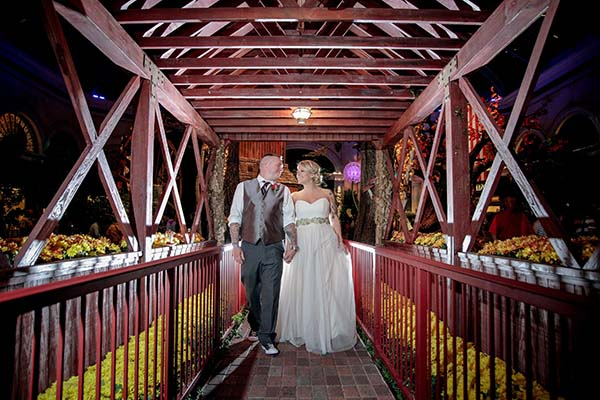 Fall weddings in Las Vegas