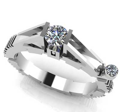 Star War Engagement Ring