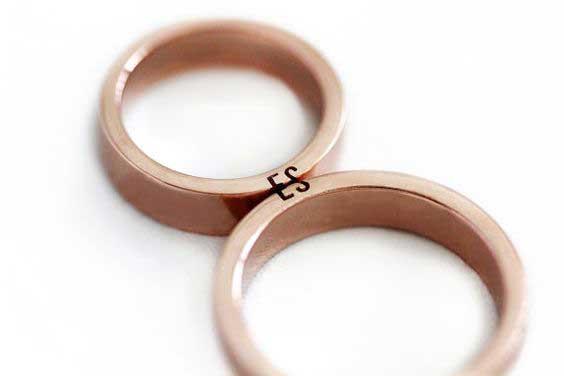 Unisex Engagement Rings