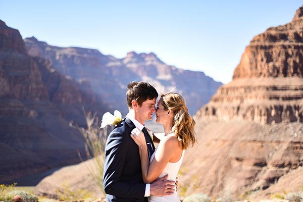 Grand Canyon Wedding Packages in Las Vegas