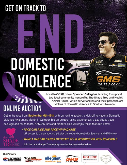 Get of Track to End Domestic Violence