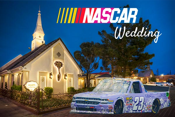 NASCAR Wedding in Las Vegas