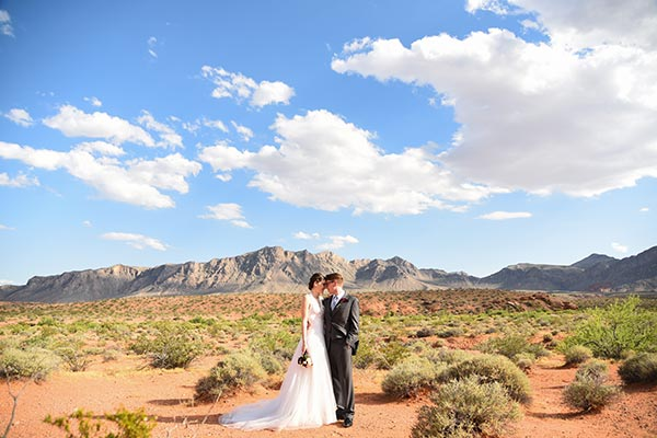 Valley of Fire Wedding Packages in Las Vegas