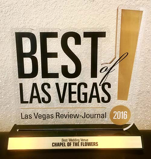 Best Wedding Venue :: Best of Las Vegas Awards :: Chapel of the Flowers