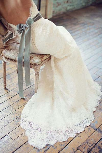 Ribbon Sash for wedding dress