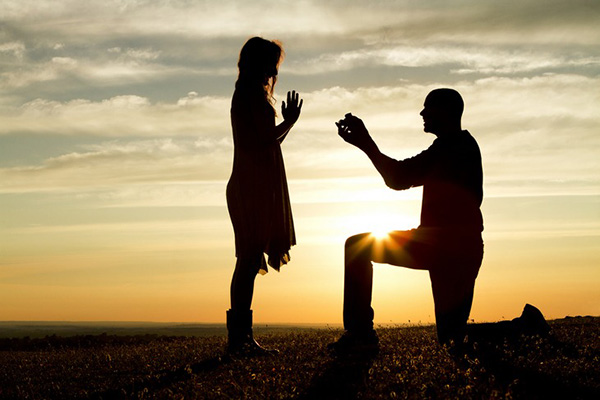 Marriage Proposals during the holiday season